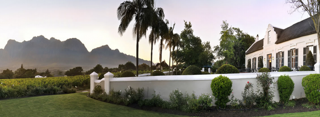 Grande Roche Hotel at Paarl, Cape Town, South Africa