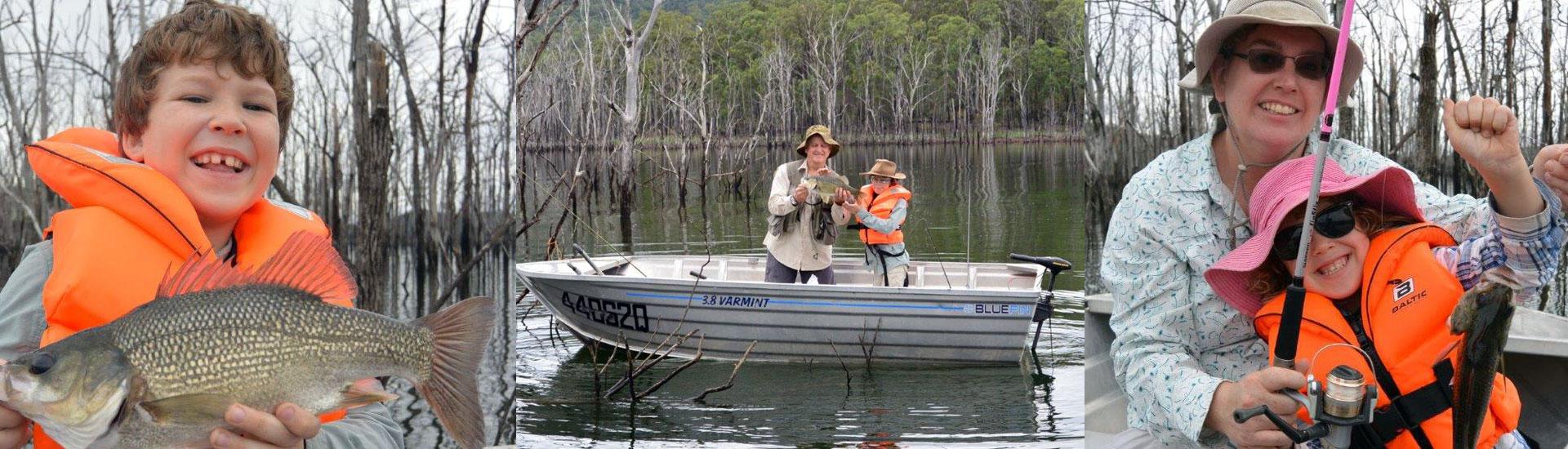 FAMILY FISHING TRIP TO HINZE DAM