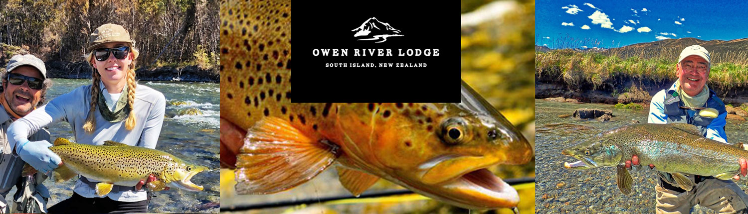 Owen River Lodge - South Island, New Zealand