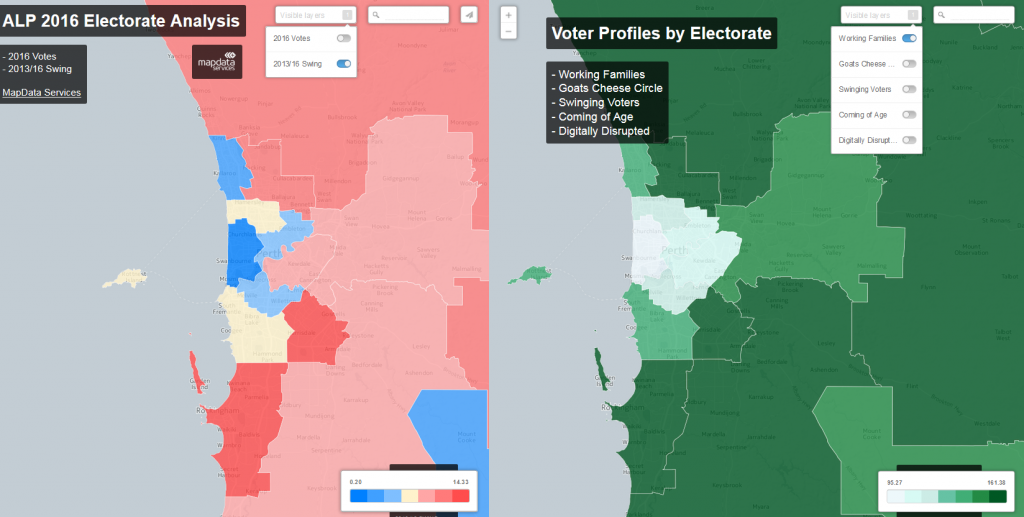 2016 Electorate Analysis and Voter Profiles by Electorate
